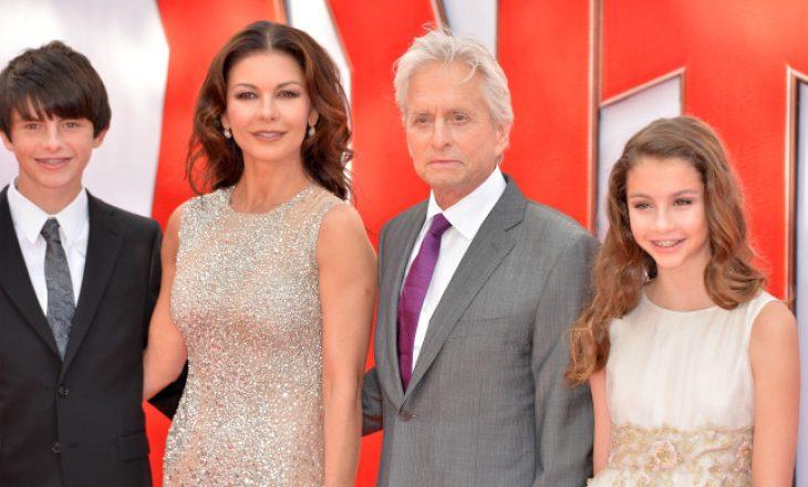 Frika e aktorit Michael Douglas për fëmijët e tij