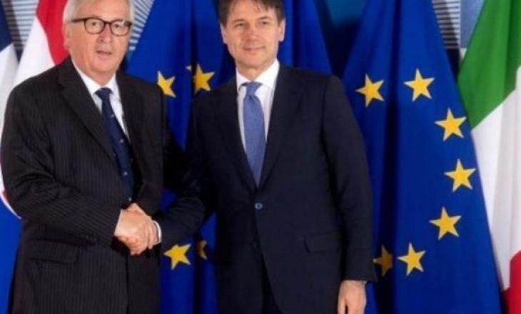 Juncker: BE-ja nuk është në luftë me Italinë