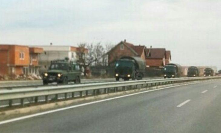Novosti: Pjesëtarët e FSK me 20 automjete janë nisur kah veriu i Kosovës