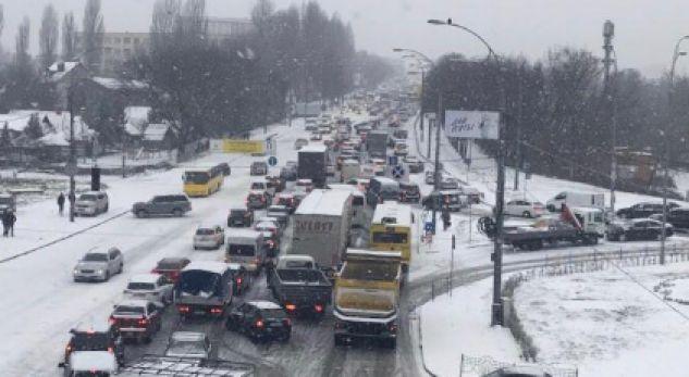 Kolaps në këtë shtet për shkak të borës së madhe