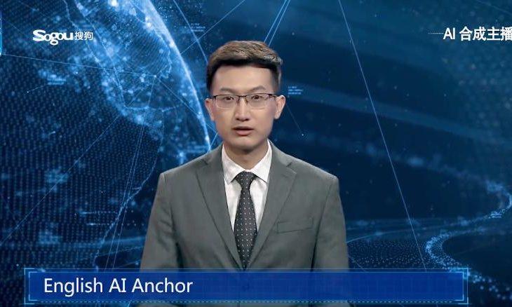 """Agjencia kineze """"Xinhua News"""" prezanton moderatorin robotik të lajmeve"""