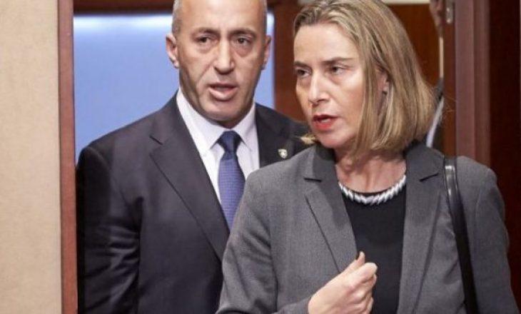 Haradinaj i dërgon letër Mogherinit për taksën ndaj produkteve serbe
