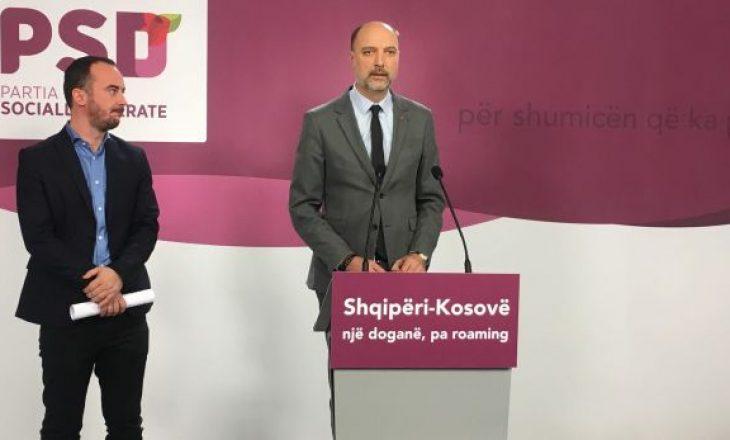 Kërkesa e PSD-së pas mbledhjes së qeverive në Pejë