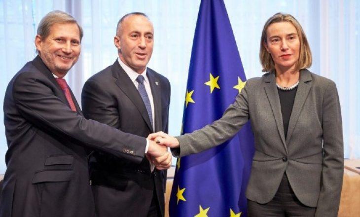 Haradinaj i përgjigjet Mogherinit: Nuk tërhiqet taksa ndaj Serbisë