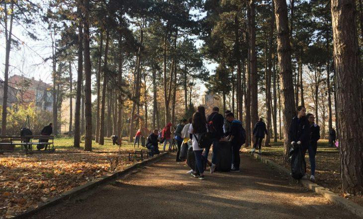 Fillon aksioni Ta Pastrojmë Kosovën në parkun e Gurakocit