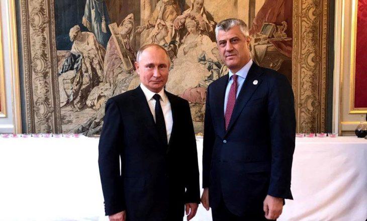 Kadri Veseli komenton takimin ndërmjet Thaçit dhe Putinit