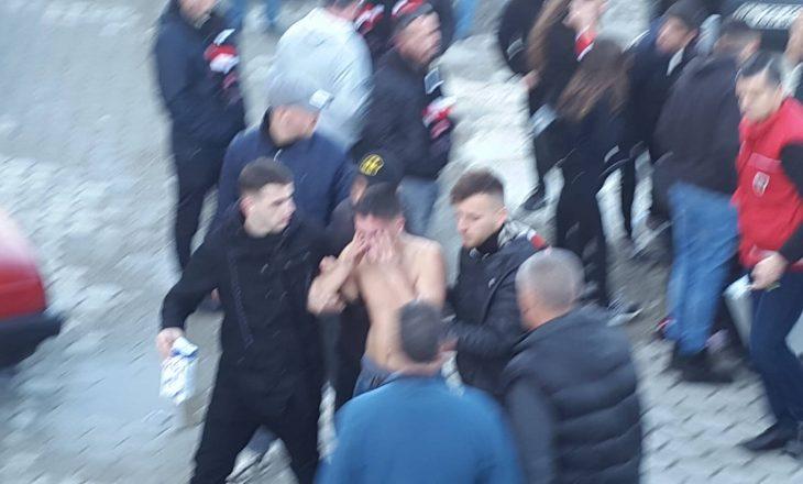 Përleshje dhe arrestime gjatë ndeshjes në Therandë