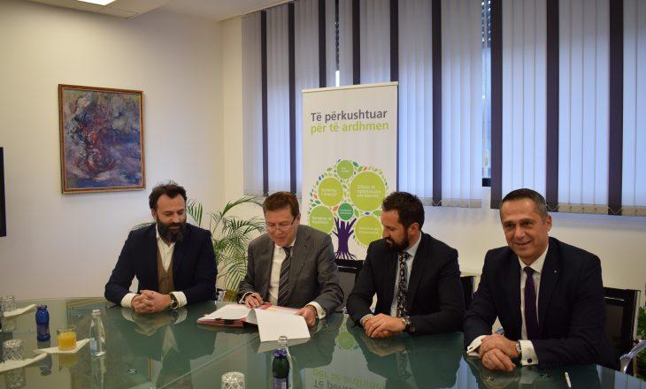 NLB e ERVB nënshkruan kontratë për projektin MarigonaHill