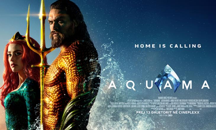 Dalin në shitje biletat për Aquaman në Cineplexx!
