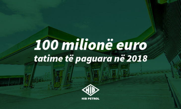 HIB Petrol vazhdon të jetë tatimpaguesi më i madh në Kosovë, paguan mbi 100 milionë euro në 2018