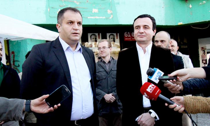 VV thotë se Ahmeti nuk ka besueshmëri për ta përfaqësuar Kosovën në dialogun me Serbinë