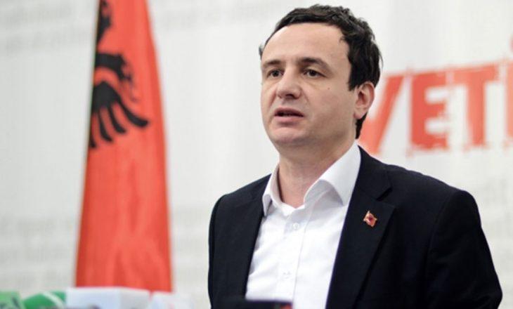 Albin Kurti kritikon Thaçin për fjalimin e mbrëmshëm në OKB