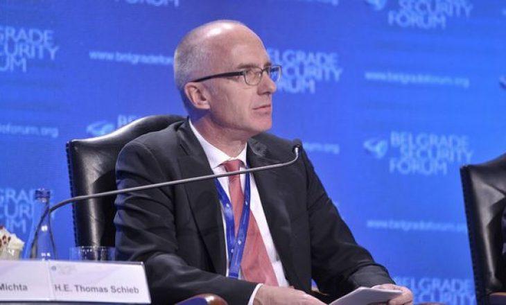 Ambasadori gjerman në Beograd ka një porosi për Kosovën e Serbinë