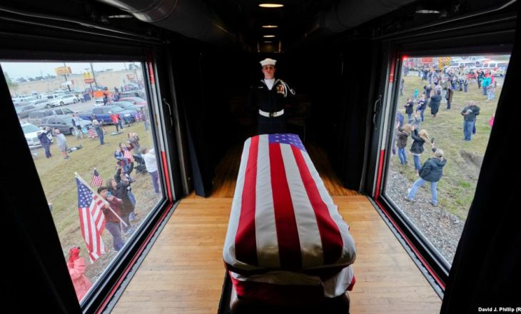 Varroset ish presidenti i SHBA-së, George H. W. Bush