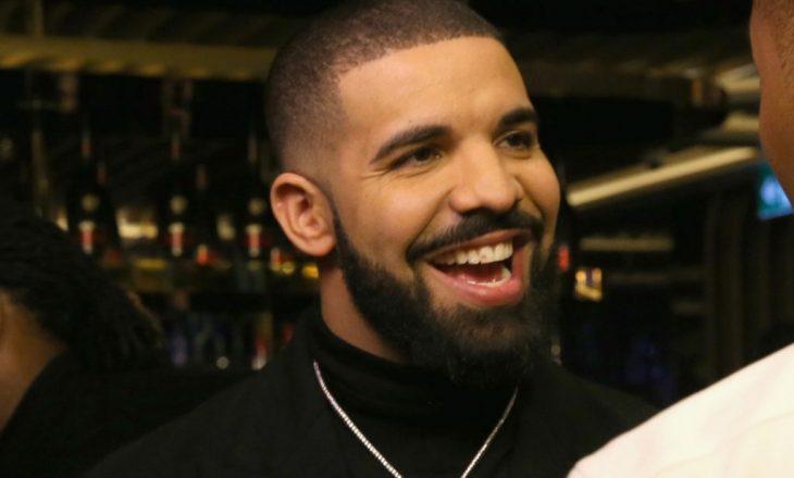 Drake, këngëtari më i dëgjuar i vitit