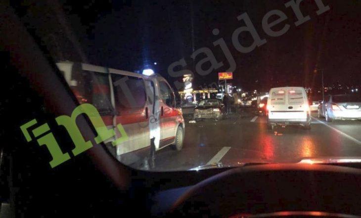 Aksident i rëndë në Komoran, ka të lënduar