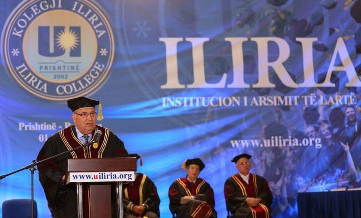 Ekspertja rumune paralajmëron padi kundër Kolegjit Iliria