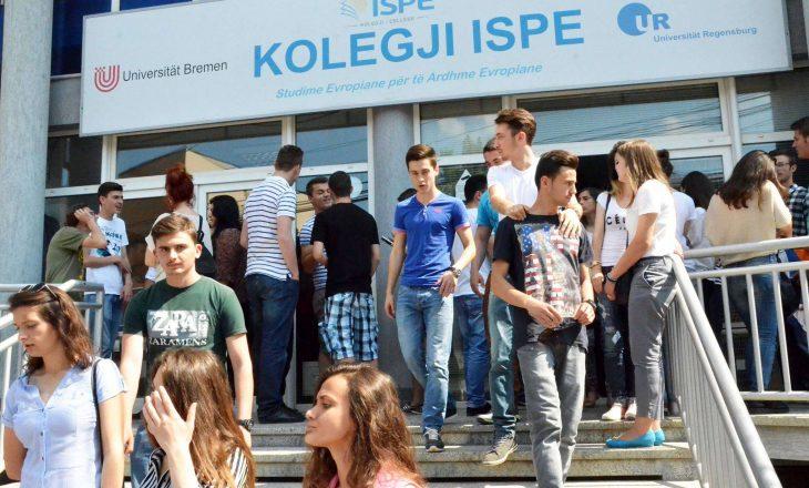 Kolegji ISPE i dërgon studentët tek përmbaruesi privat – kërkon nga tre mijë euro prej tyre