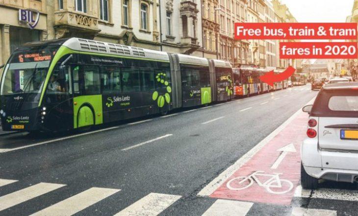 Luksemburgu, vendi i parë në botë me transport publik falas