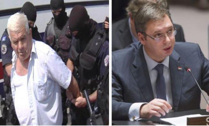 Mashtrimi publik i Vuçiqit në OKB në lidhje me serbin e arrestuar për krime lufte në Kosovë
