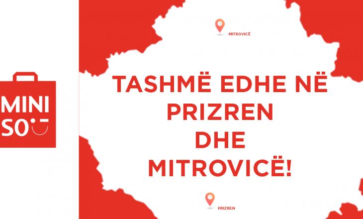 Brendi japonez MINISO së shpejti edhe me pika të reja të shitjes në Kosovë