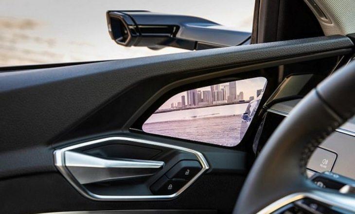Audi i zëvendëson pasqyret anësore me kamera