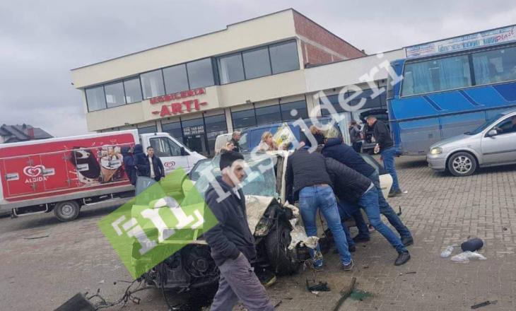 Aksidenti në Podujevë, shtatë të lënduarit janë në gjendje të rëndë