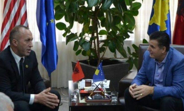 """Haradinaj komenton idenë e Agim Bahtirit për """"bashkimin e Mitrovicës"""""""
