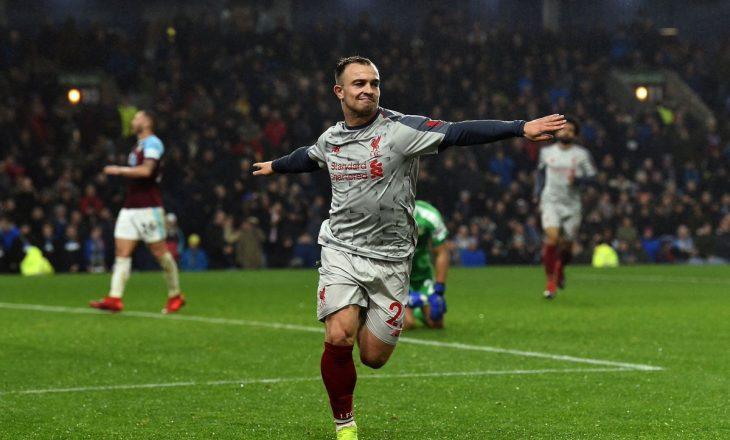 Flet Shaqiri pas golit të bukur në Premierligë, zbulon se çfarë iu tha Kloppi