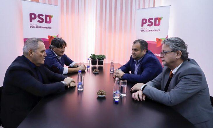 Surroi dhe Shllaku vazhdojnë turneun në PSD