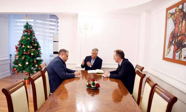 Porosia e Thaçit për dialogun pas takimit me Ahmetin dhe Limajn