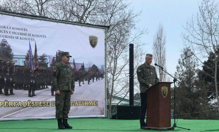 Thaçi ndihet i lumtur dhe krenar me vendimin e Haradinajt për krijimin e ushtrisë