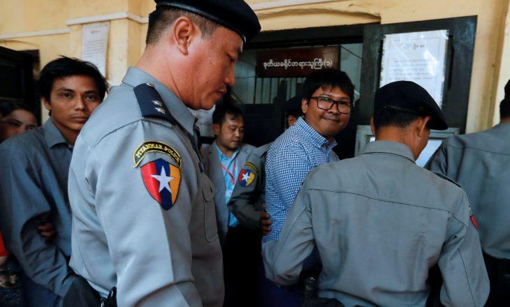 Gjykata hedhë poshtë ankesën ndaj aktgjykimit për gazetarët në Mianmar