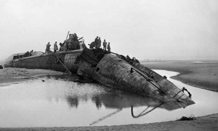 Anija e fundosur gjermane shfaqet mbi sipërfaqen e detit pas 100 vjetësh