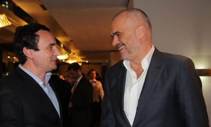 Edi Rama flet për raportet me Albin Kurtin, pas tensioneve për Gent Cakajn