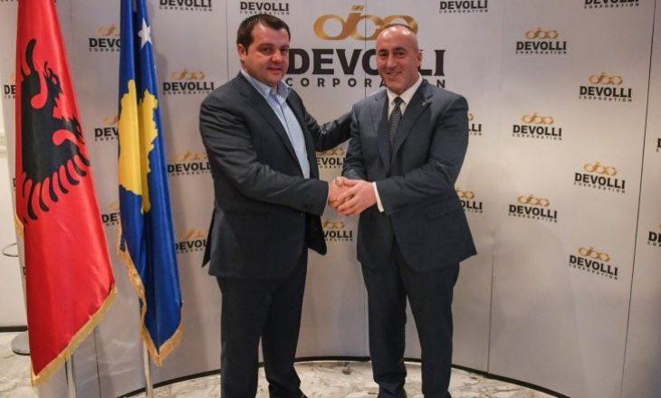 Kryeministri Haradinaj viziton Devolli Corporation