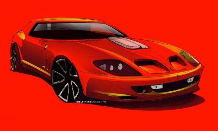 Ferrari 550 GT nga Niels van Roij Design