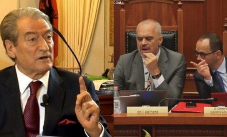 Berisha ironizon Ramën: Shqipëria ka dy ministra të Jashtëm
