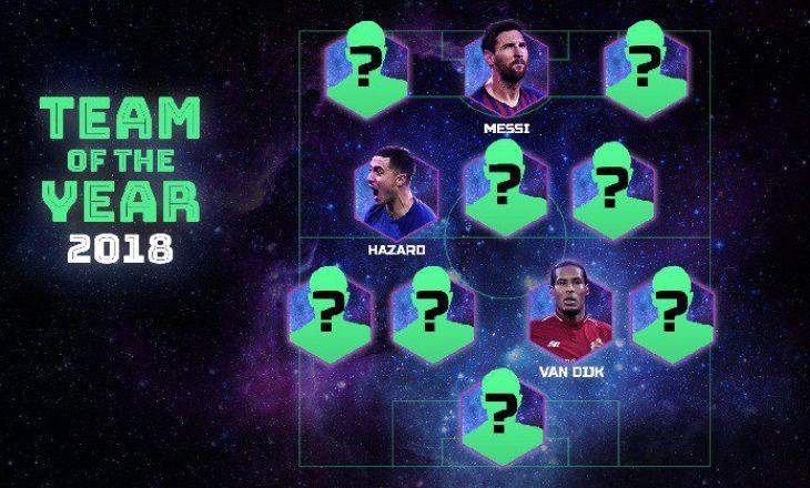 Zyrtare: UEFA zbulon formacionin e vitit, shumë surpriza