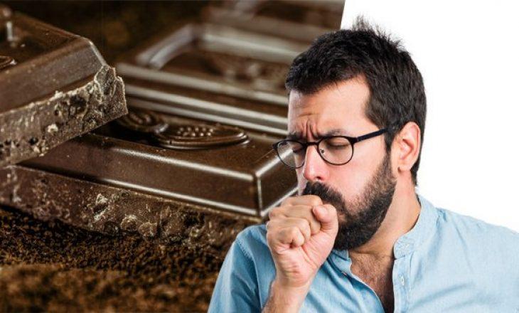 Çokollata më e mirë se shurupi për kollë, pretendojnë mjekët