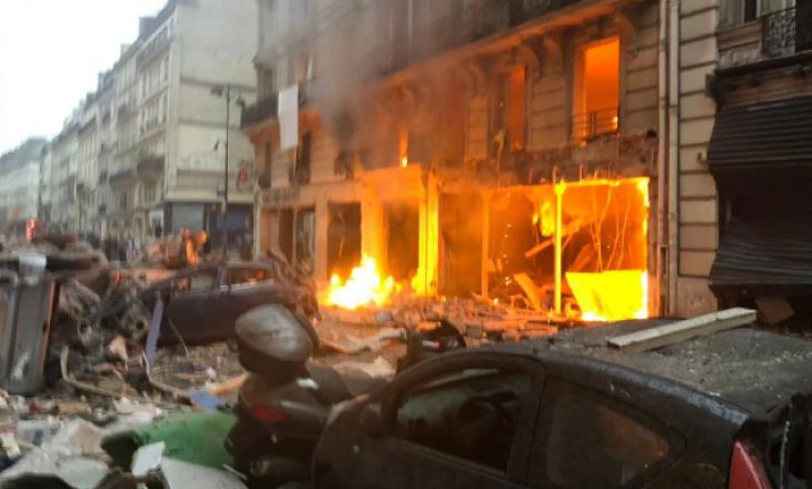 Shpërthim gazi në Paris, disa të plagosur