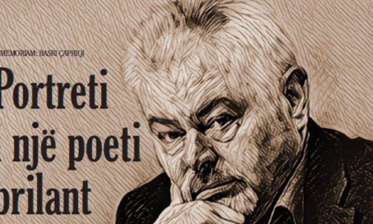 Homazh poetik për njëvjetorin e vdekjes së poetit Basri Çapriqit