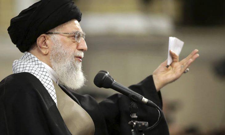 Lideri suprem iranian Khamenei: SHBA duhet së pari të kthehet në marrëveshjen bërthamore