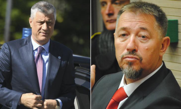 Njeriut që Hashim Thaçi i mbeti 500 mijë euro borxh do ta mbrojë Sami Lushtakun në Gjykatën Speciale