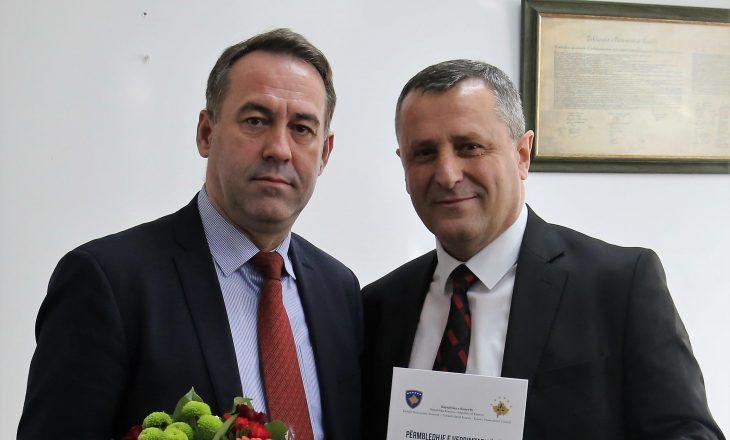 Bahri Hyseni merr zyrtarisht detyrën e kryesuesit të KPK-së