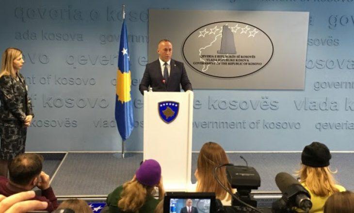 Haradinaj kërkon një garancë nga BE-ja për pezullimin e taksës ndaj Serbisë