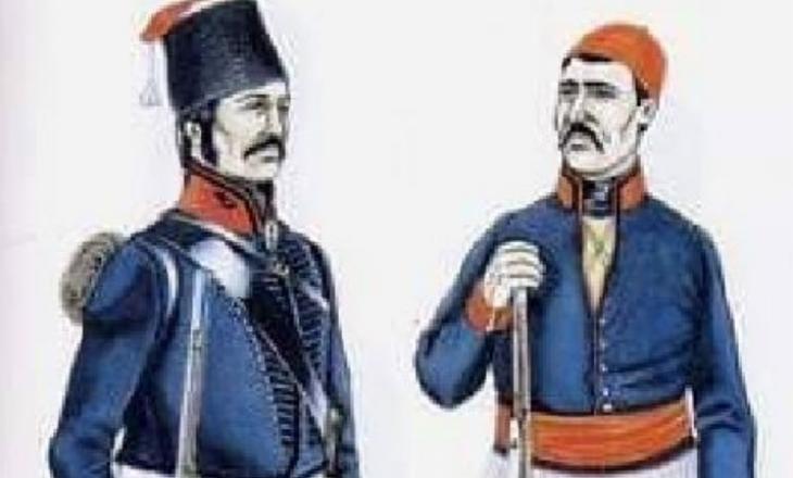 Ushtarët shqiptarë të cilët i shërbyen Napoleonit