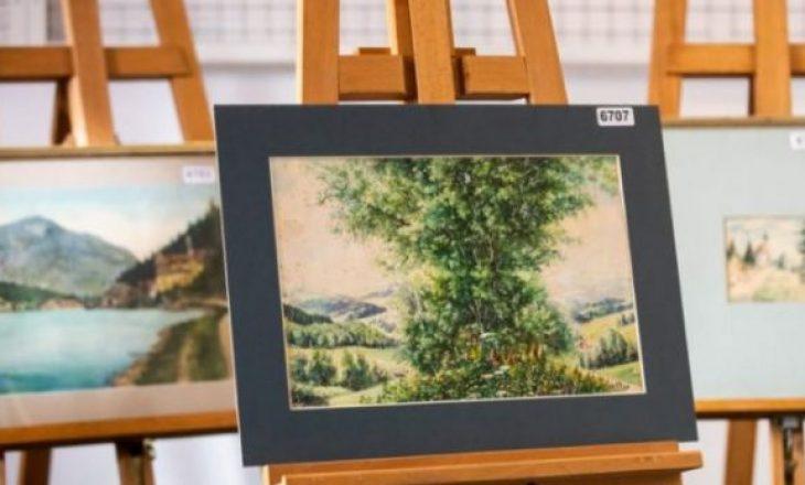 Ky është çmimi i pikturave të Hitlerit, por askush nuk është i interesuar