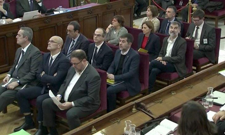 Filloi gjykimi i udhëheqësve separatistë katalanas