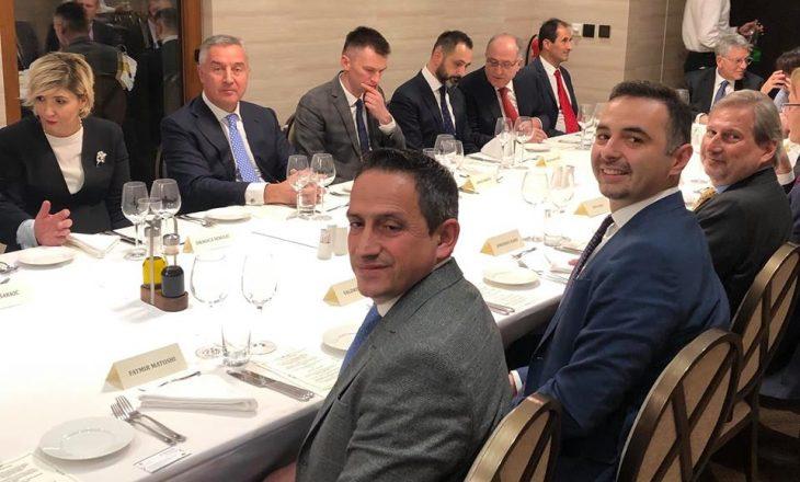 Ministri Matoshi dhe Lluka të ftuar në darkën e presidentit malazez